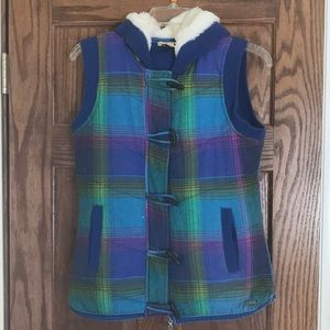 Multi-colored Roxy Vest